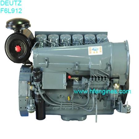 Deutz diesel air cooled F6L912 engine complete