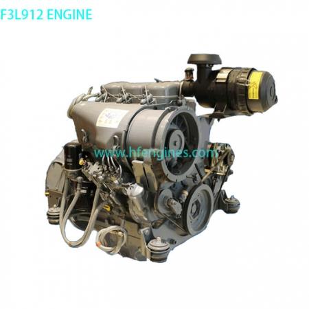 DEUTZ F3L912 complete engine